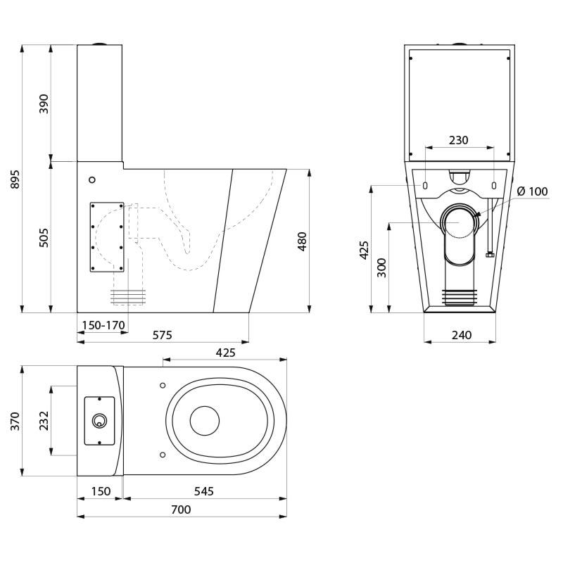 Panneau Salle De Bain Imitation Bois ~ Wc Pmr Dwg Trendy Detail Drawings Specimen Documents Technical
