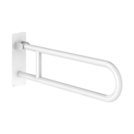 511516W-Basic drop-down grab bar, white, L. 760mm