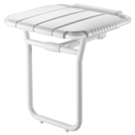 510410-Lift-up shower seat with ALU leg- Large model