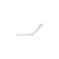 511983W-Be-line® matte white angled grab bar 135°, 220 x 220mm