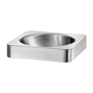 Semi-recessed QUADRA washbasin