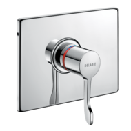 790BOX-H9632-Recessed sequential thermostatic shower mixer