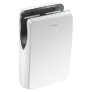 510624W-SPEEDJET 2 white air pulse hand dryer, with HEPA filter