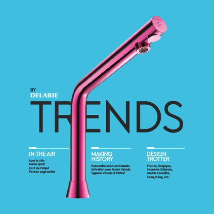 "Discover Issue 1 of our new Design magazine ""Trends by DELABIE"" intended primarily for architects and interior designers, but also ultimately for t..."