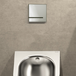 electronic urinal valve