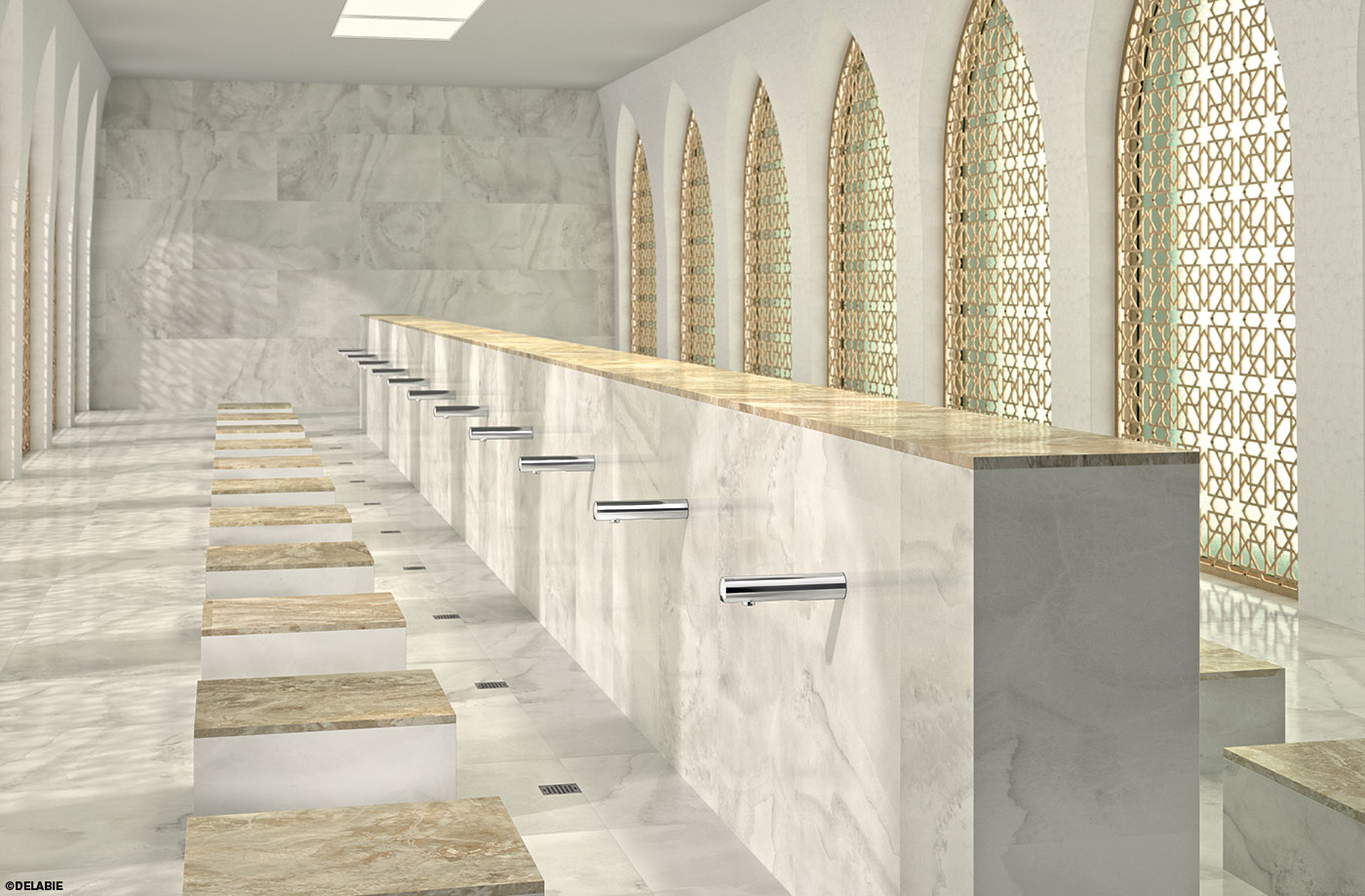 Ablutions Area