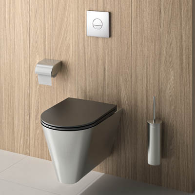 S21 S wall-hung stainless steel designer WC