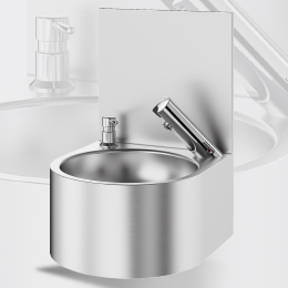 Electronic hand washbasin