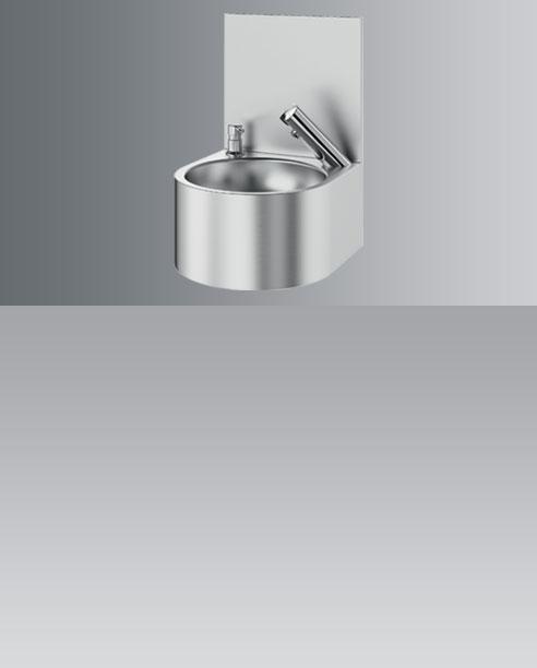 Electronic washbasin