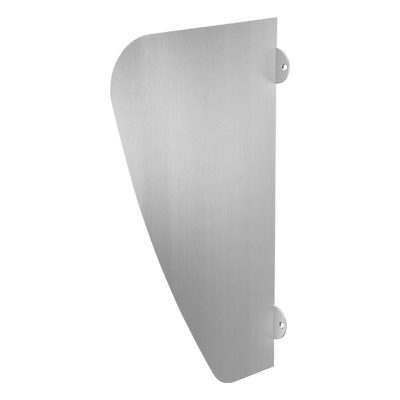 AZA stainless steel urinal divider