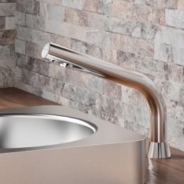 electronic basin tap