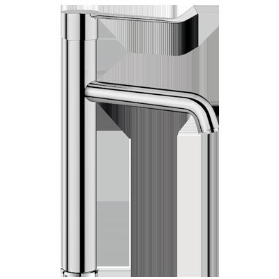 Mechanical basin mixer with pressure-balancing