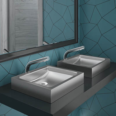 UNITO stainless steel designer washbasin