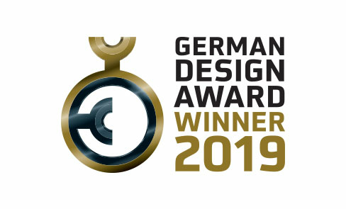 Winner of the German Design Award 2019
