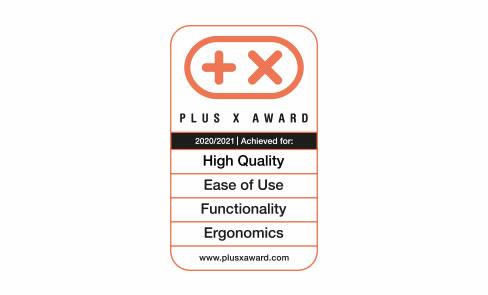 Winner of the Plus X Award for Global Innovation