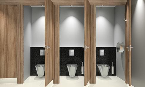WC direct flush system, a public revolution